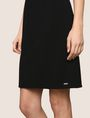 ARMANI EXCHANGE SEAMED V-NECK SHEATH Mini dress Woman b