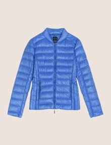 ARMANI EXCHANGE ULTRALIGHT SHAWL-COLLAR PUFFER JACKET PUFFER JACKET Woman r