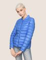 ARMANI EXCHANGE ULTRALIGHT SHAWL-COLLAR PUFFER JACKET PUFFER JACKET Woman f