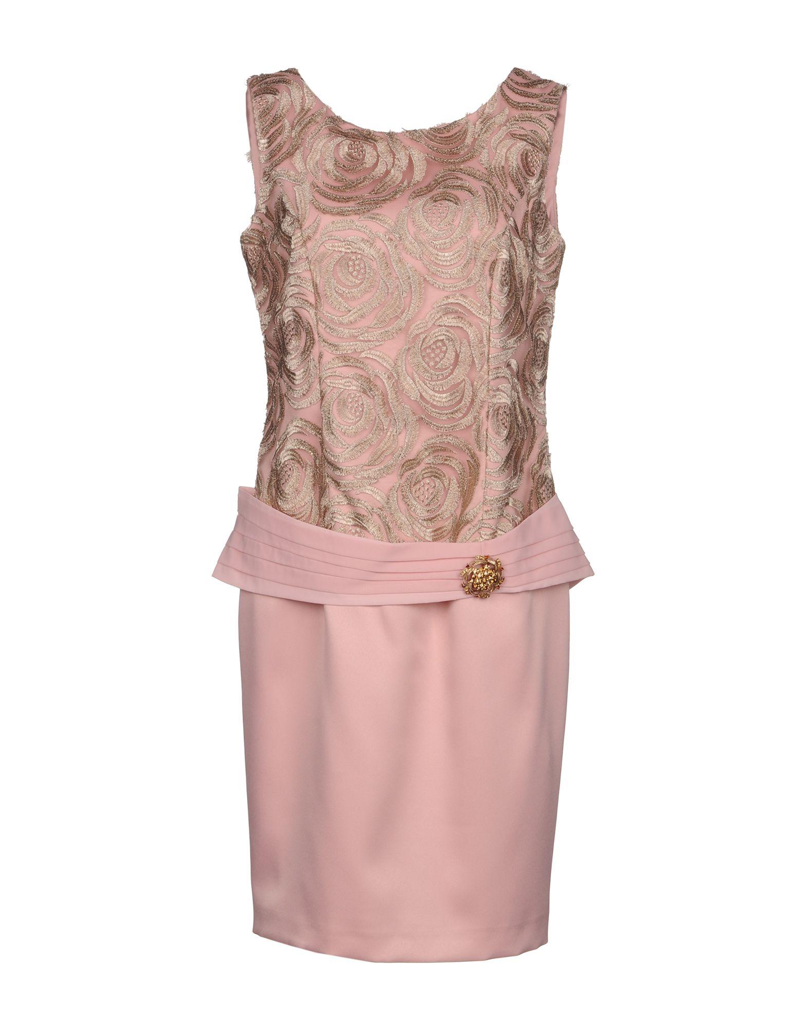 Фото - MONCHO HEREDIA Короткое платье брошь blucome bijouteria esmaltes 7106100495
