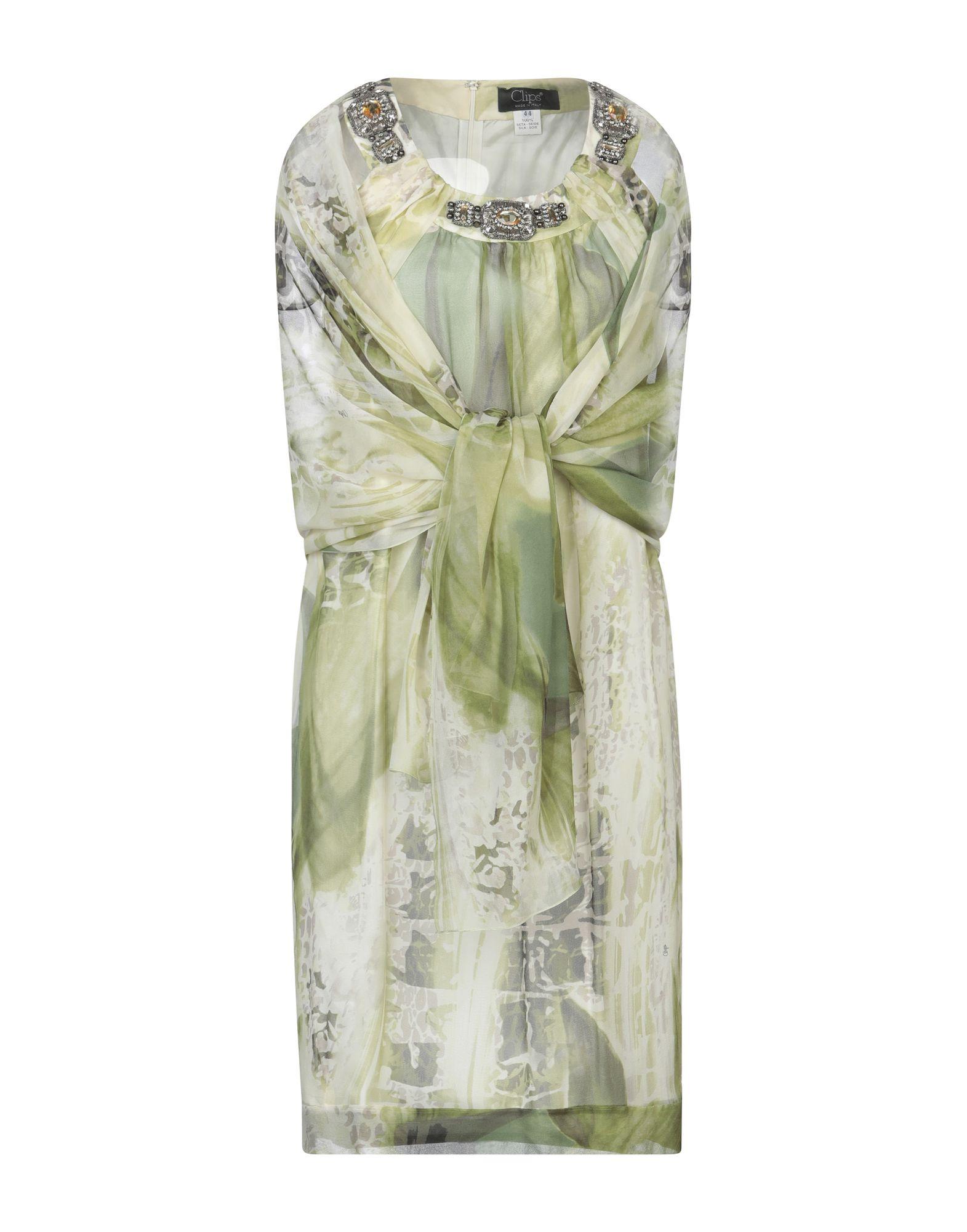 CLIPS Короткое платье lovaru ™летом стиль 2015 шифон рукавов шить цветной печати мини платье моды случайные платье