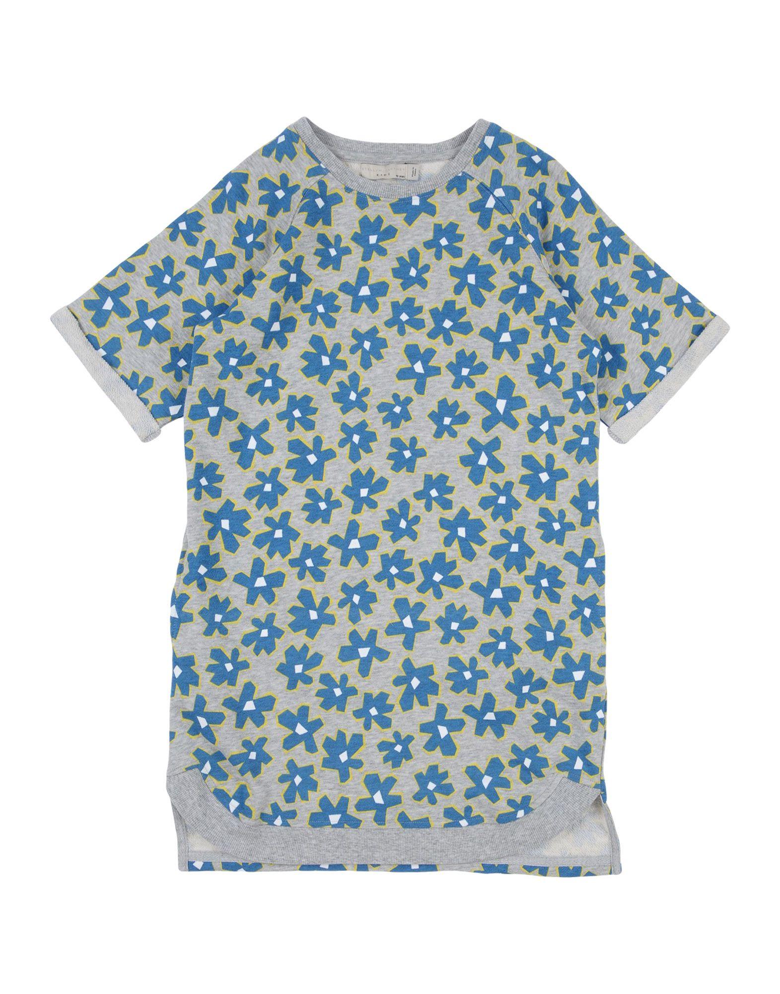 《送料無料》STELLA McCARTNEY KIDS ガールズ 9-16 歳 ワンピース&ドレス グレー 10 コットン 100% / ポリウレタン