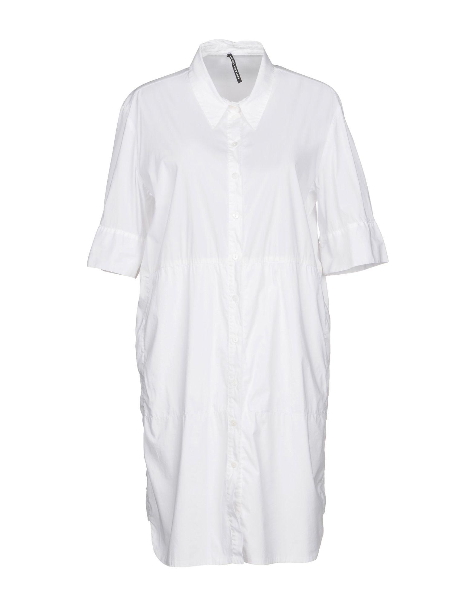 LIVIANA CONTI Короткое платье рубашка conti uomo