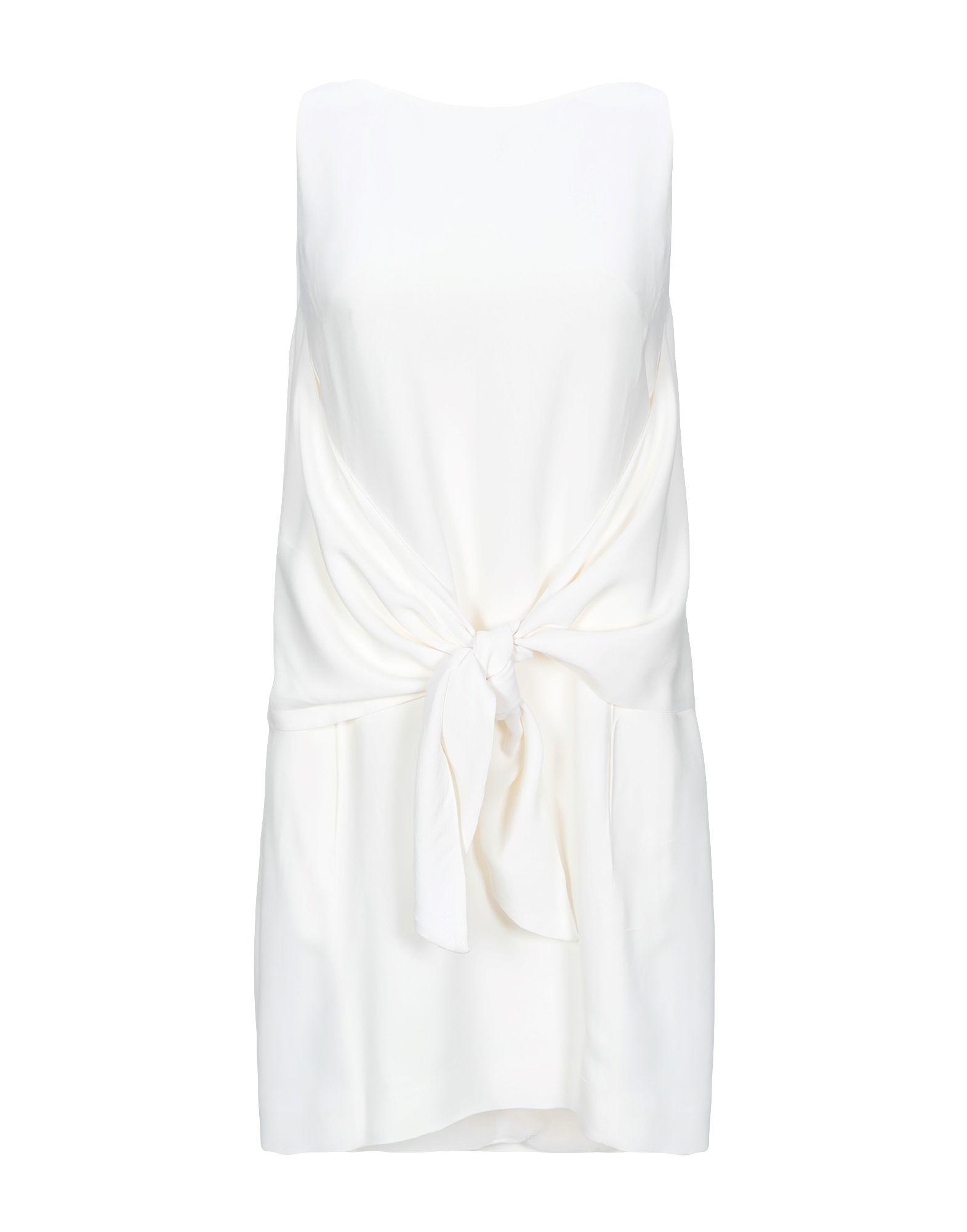 DONDUP Короткое платье карандаш логотип