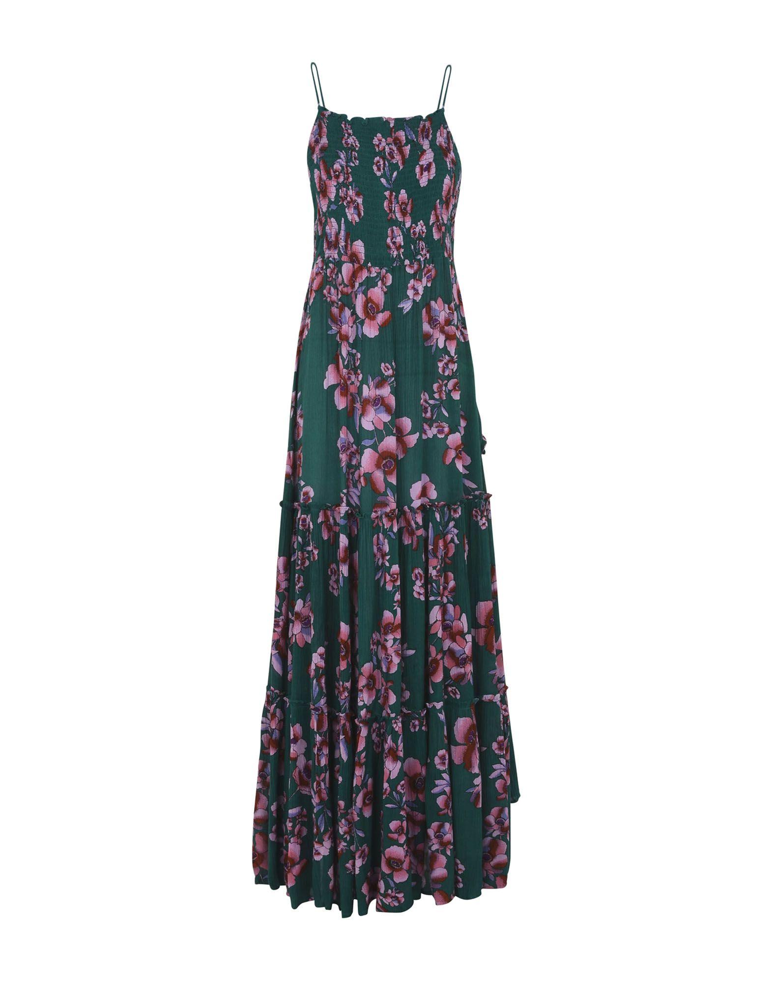 FREE PEOPLE Длинное платье free people кружевное платье guinevere