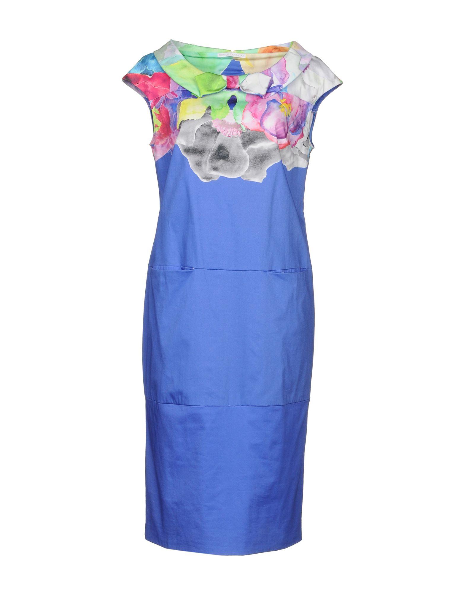 DIDIER PARAKIAN Платье до колена paolo casalini платье до колена