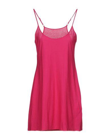 Фото - Женское короткое платье TWIN-SET JEANS цвета фуксия