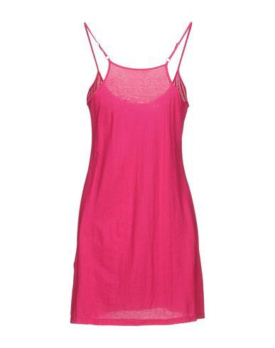 Фото 2 - Женское короткое платье TWIN-SET JEANS цвета фуксия