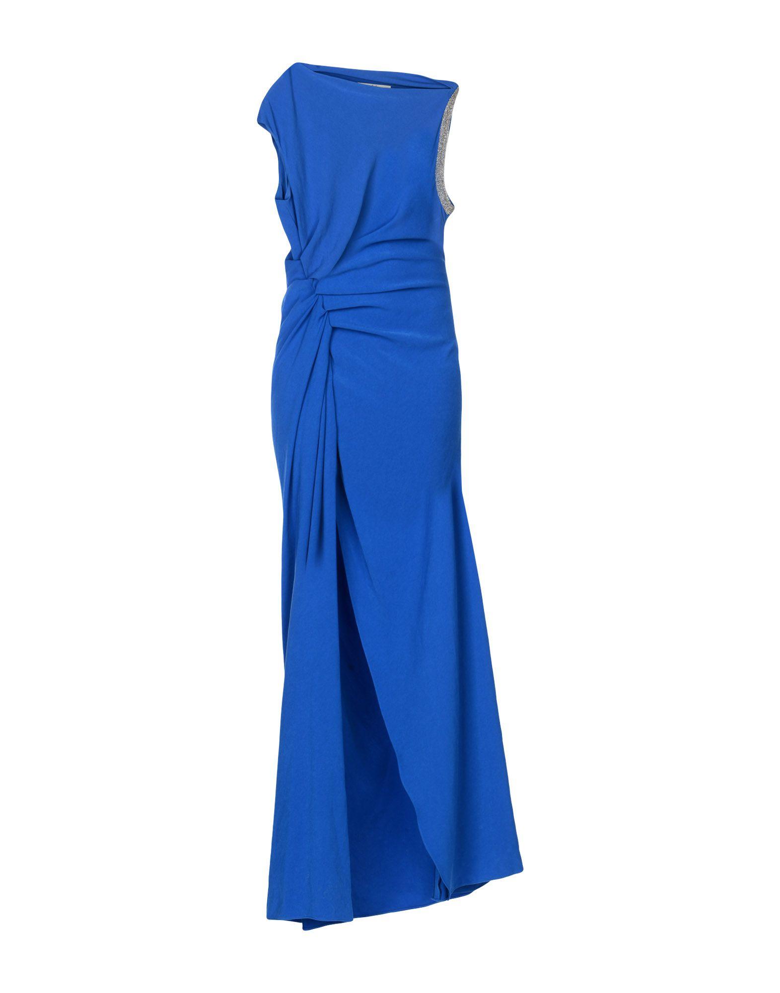 где купить HALSTON HERITAGE Длинное платье по лучшей цене
