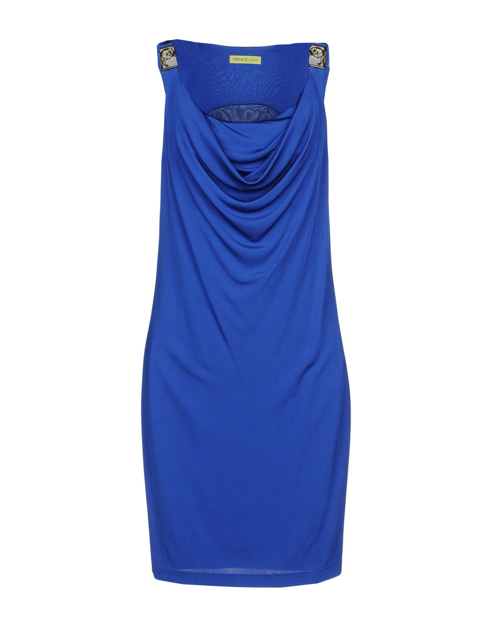 VERSACE JEANS Короткое платье versace jeans couture короткое платье