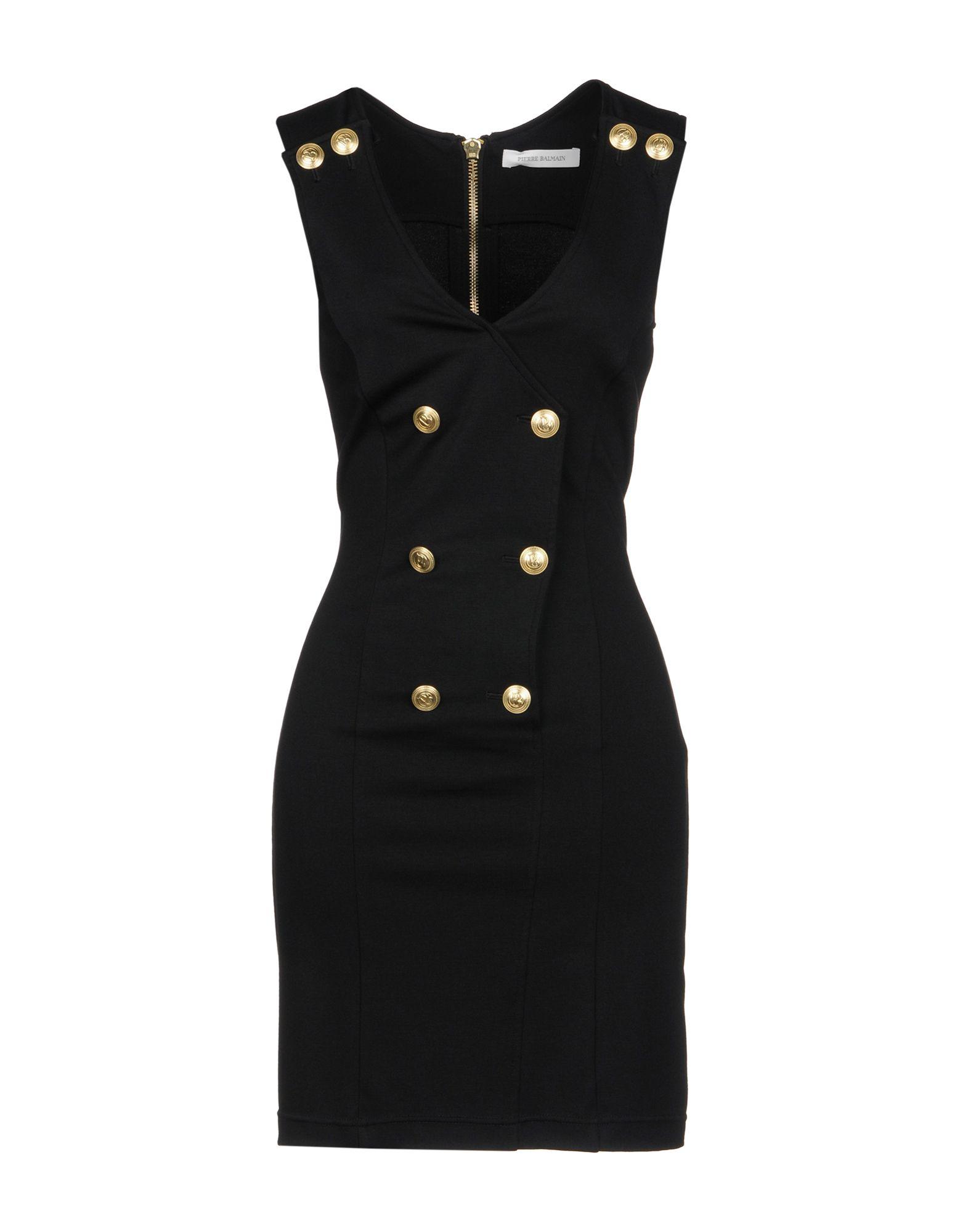 цена PIERRE BALMAIN Короткое платье онлайн в 2017 году