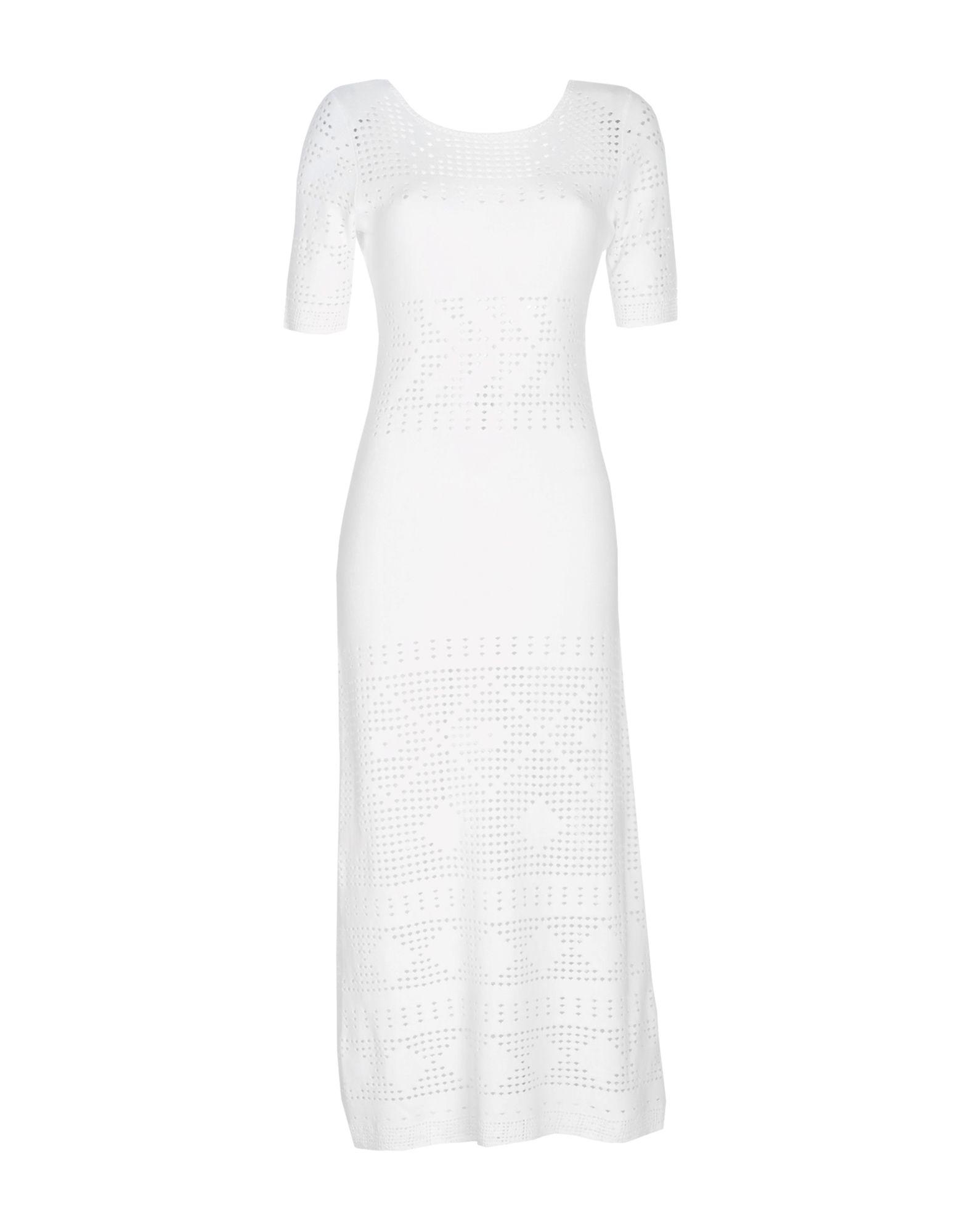 TSE Long Dress in White