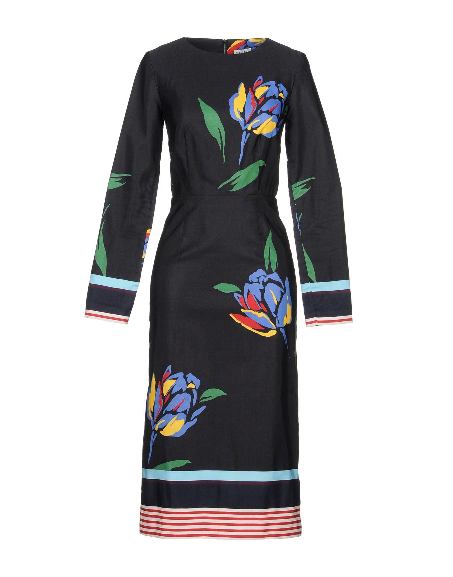SUNO Платье длиной 3/4 lisa corti платье длиной 3 4