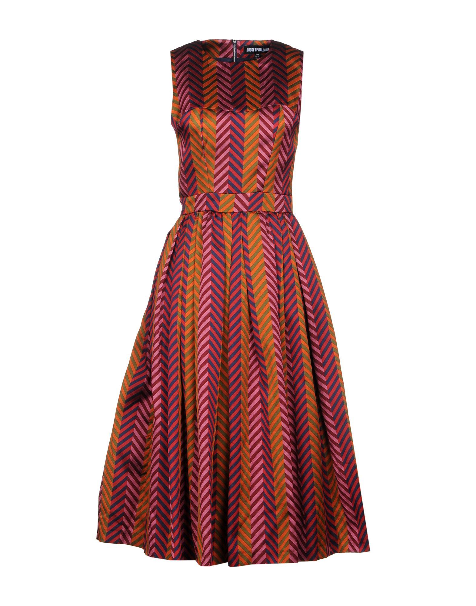 где купить HOUSE OF HOLLAND Платье длиной 3/4 по лучшей цене