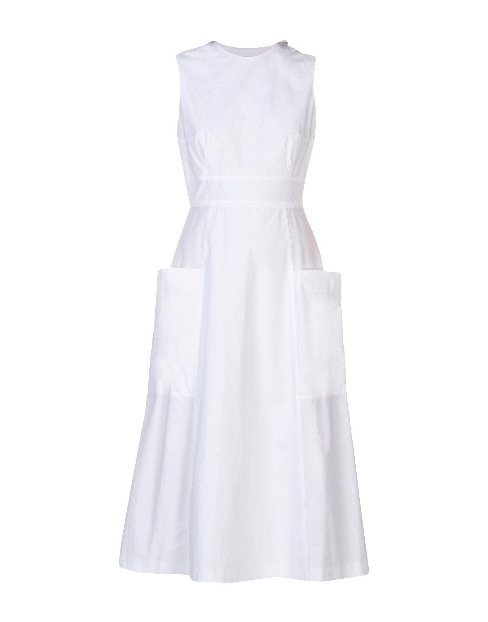 STUDIO NICHOLSON Платье длиной 3/4 напильник united states nicholson nicholson 10 06034