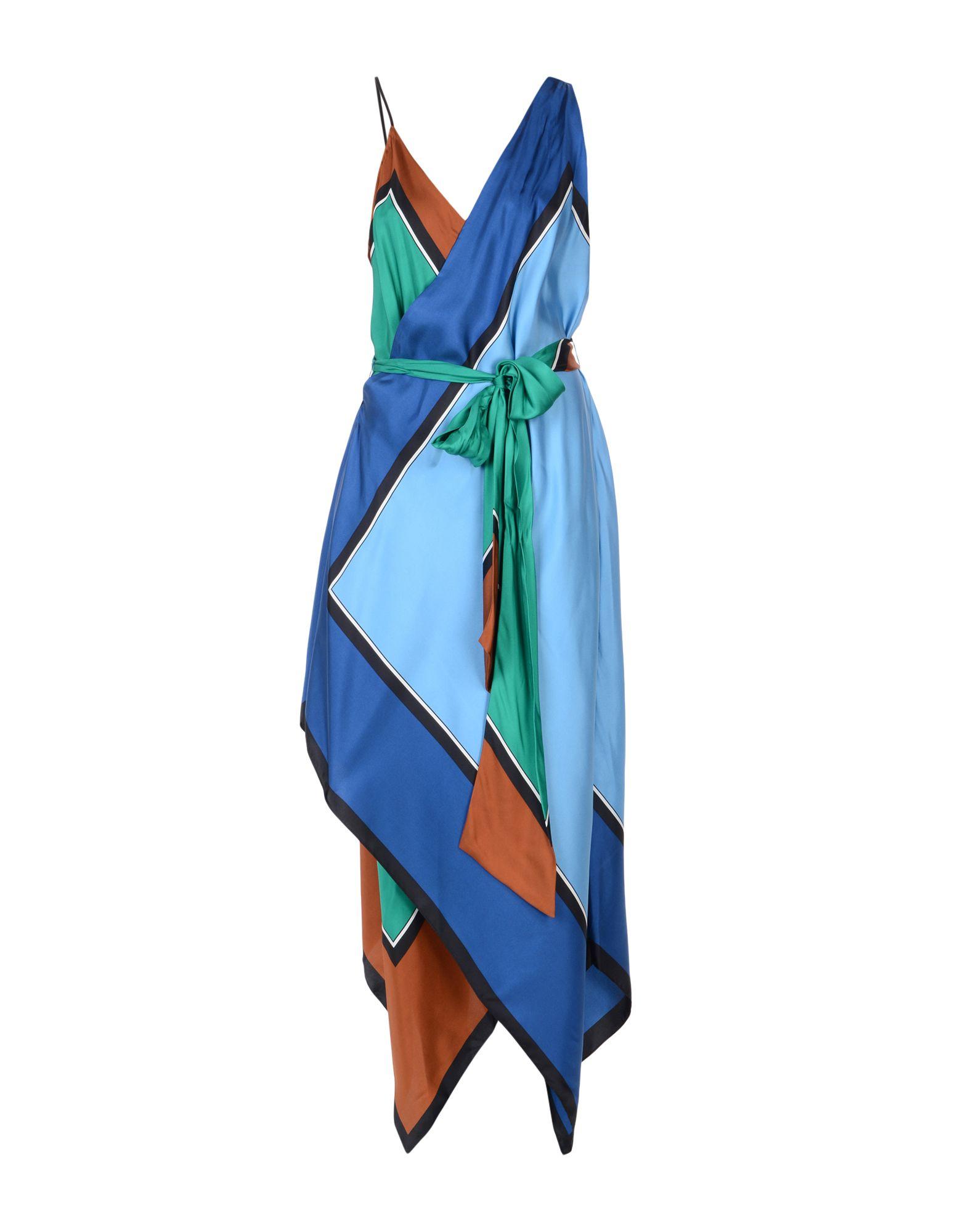 DIANE VON FURSTENBERG Длинное платье малого сексуально женщин от летних моды случайных плечо мини платье