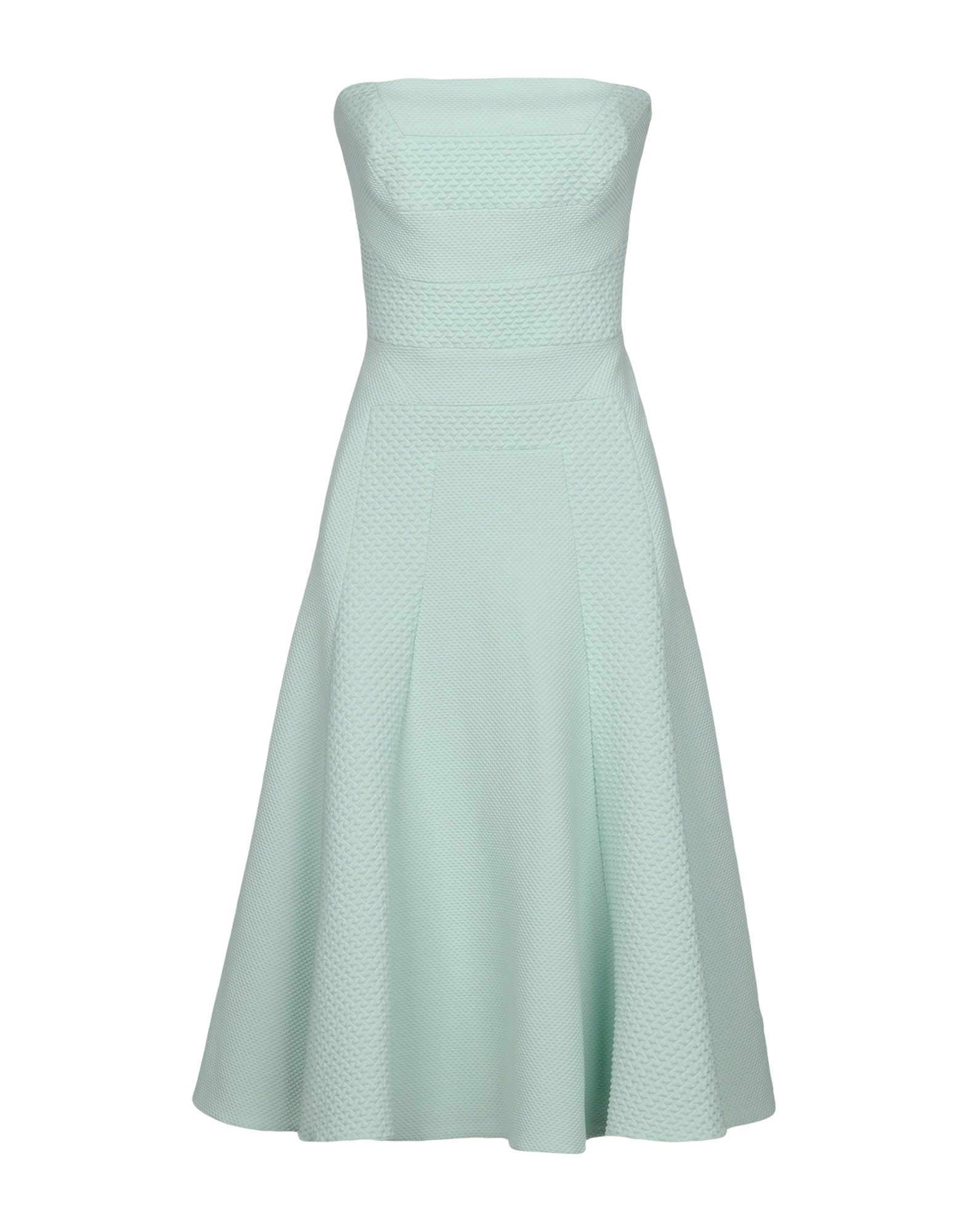KAREN MILLEN KNEE-LENGTH DRESSES, LIGHT GREEN | ModeSens