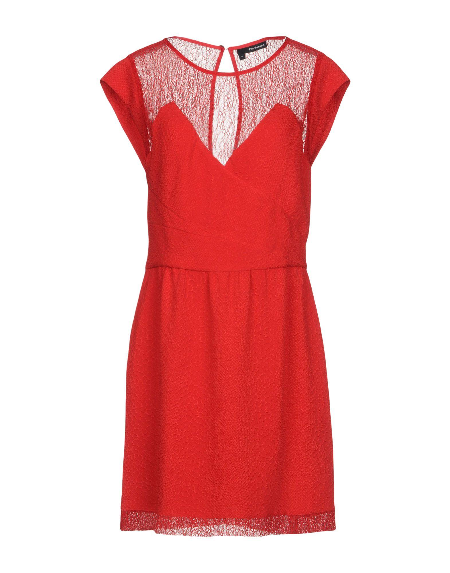 THE KOOPLES Короткое платье цены онлайн