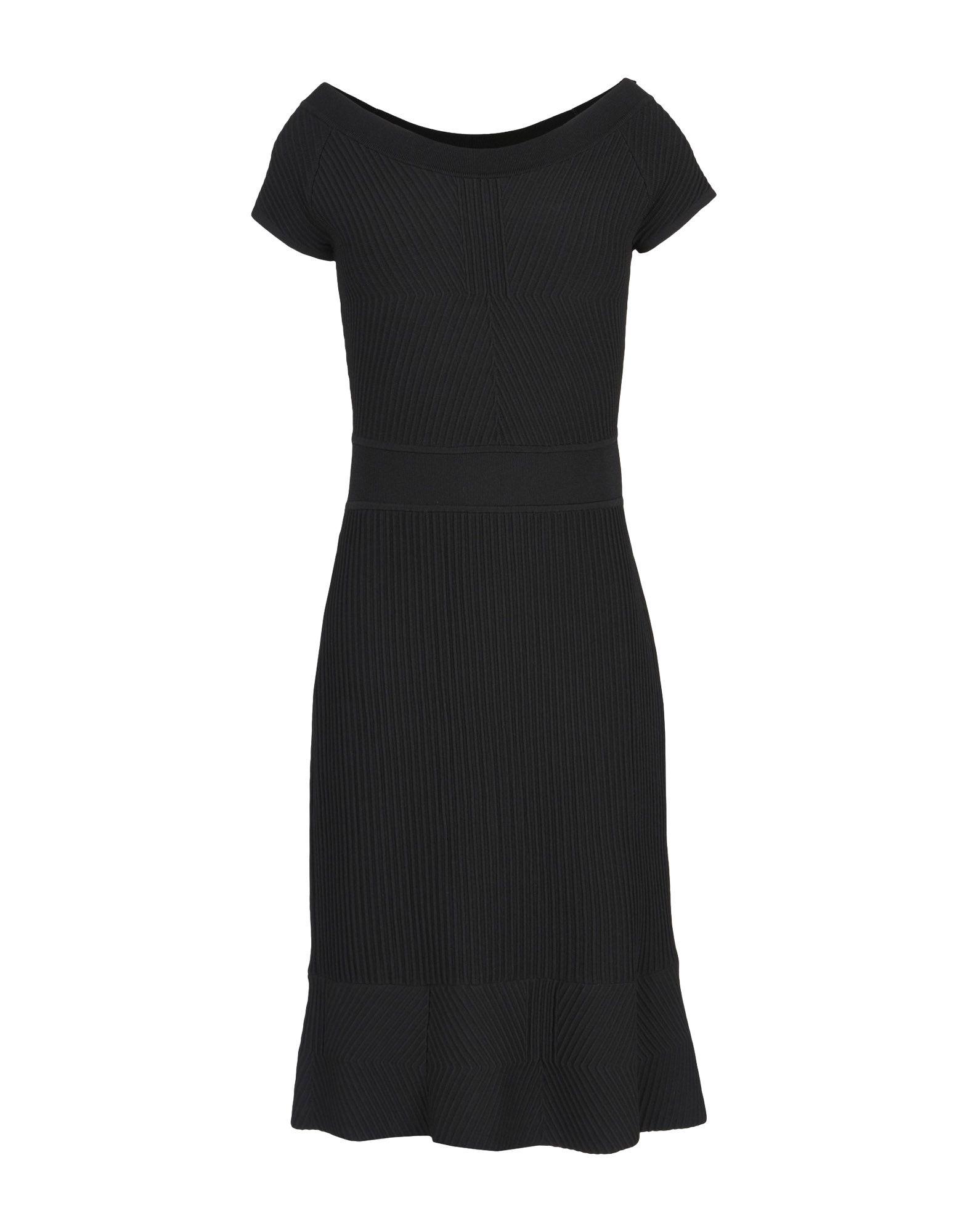 ARMANI COLLEZIONI Damen Kurzes Kleid Farbe Schwarz Größe 4