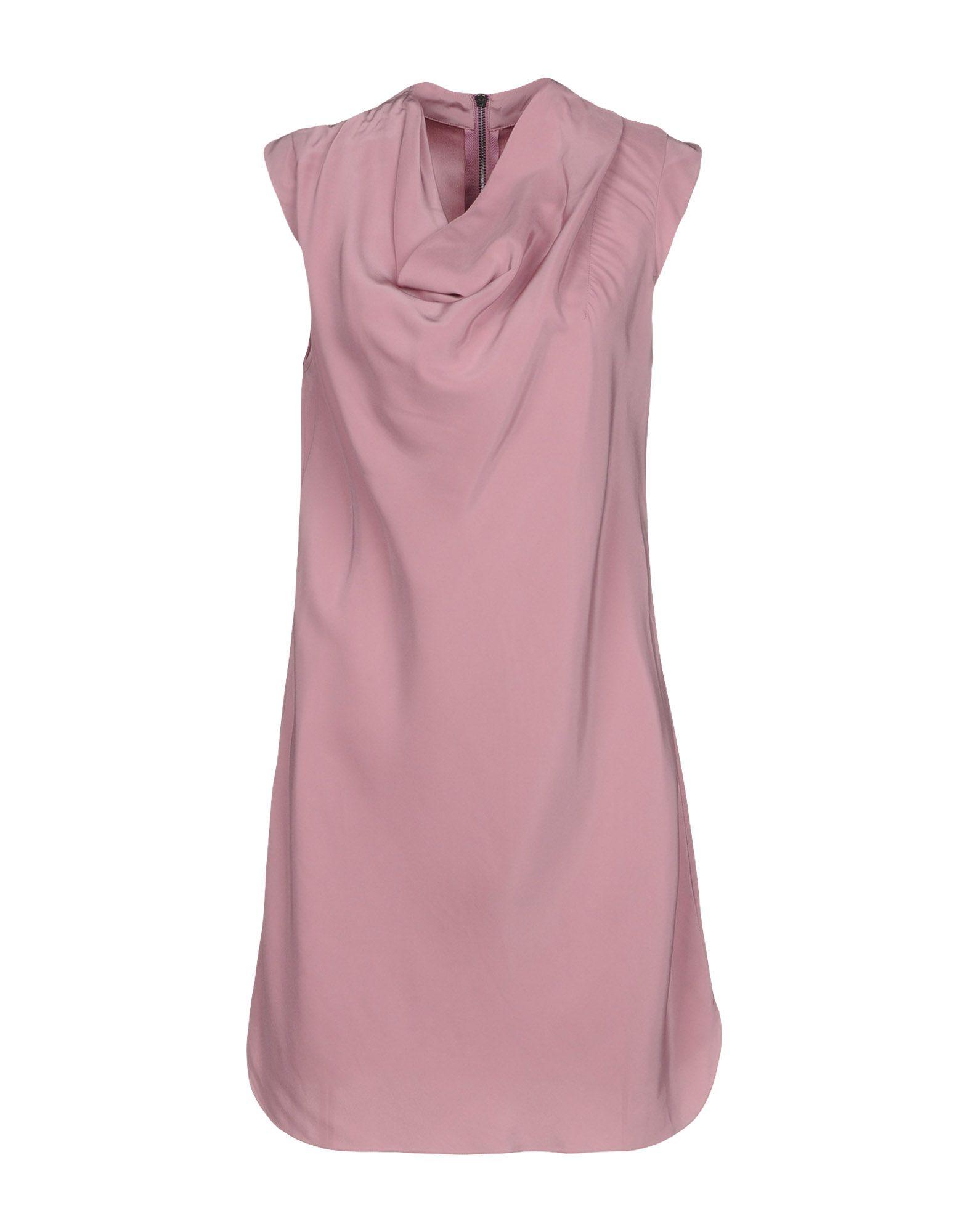 HAUTE HIPPIE Damen Kurzes Kleid Farbe Altrosa Größe 6