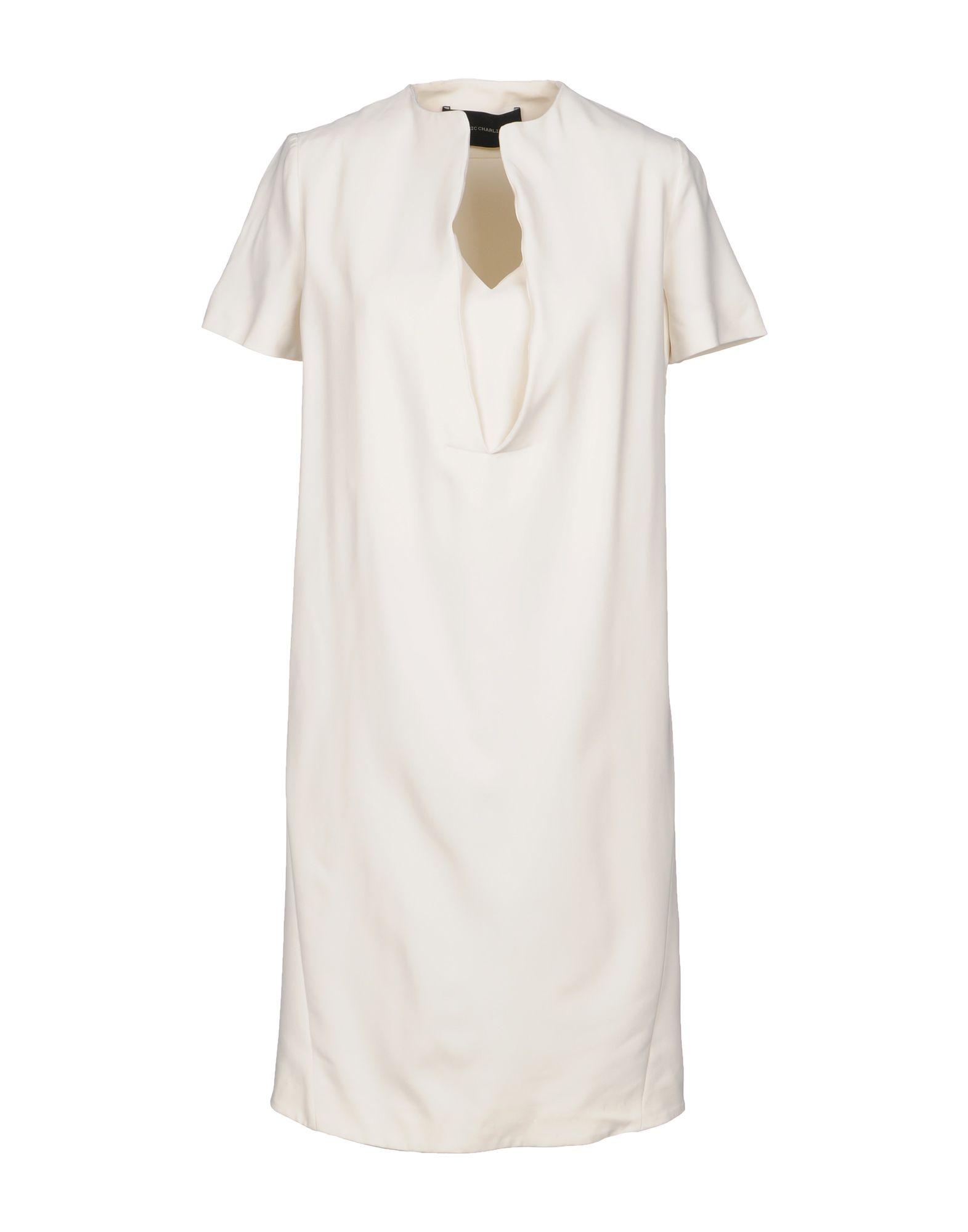 CEDRIC CHARLIER Короткое платье cedric charlier юбка–карандаш