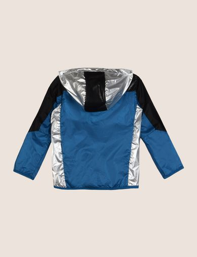 BOYS REFLECTIVE COLORBLOCK WINDBREAKER