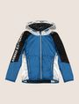 ARMANI EXCHANGE BOYS REFLECTIVE COLORBLOCK WINDBREAKER Jacket Man f