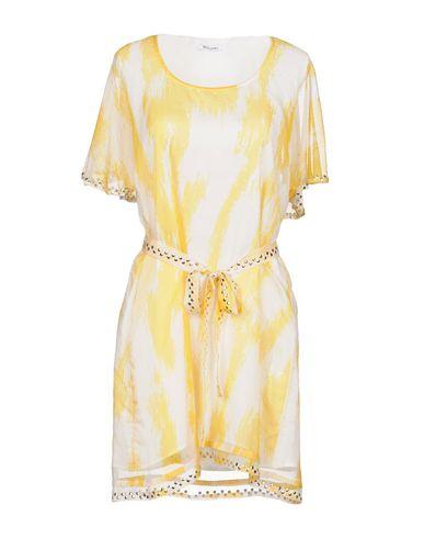 Короткое платье размер 46 цвет желтый