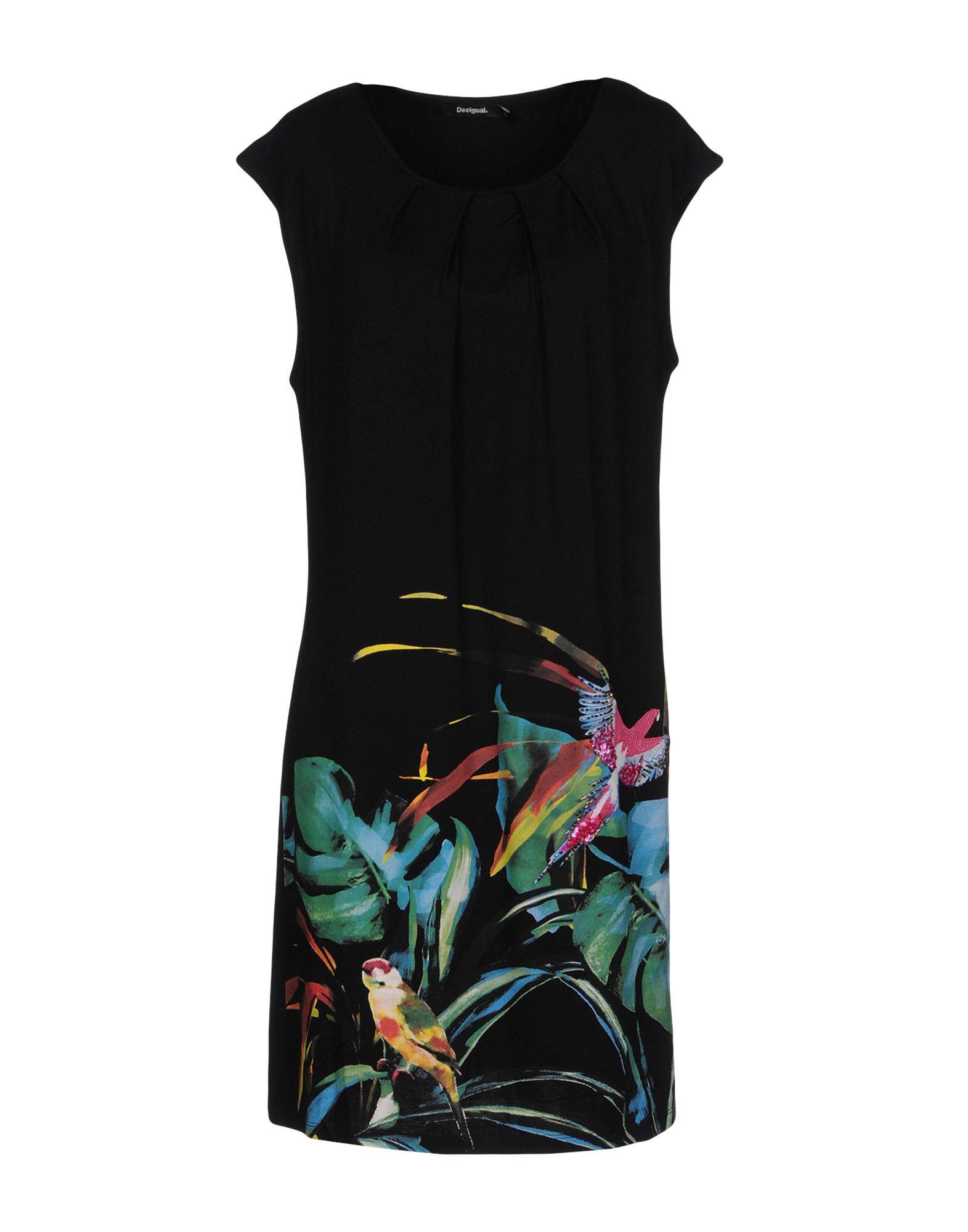 DESIGUAL Короткое платье женское платье hi holiday desigual vestidos femininos vestido 2015 140228