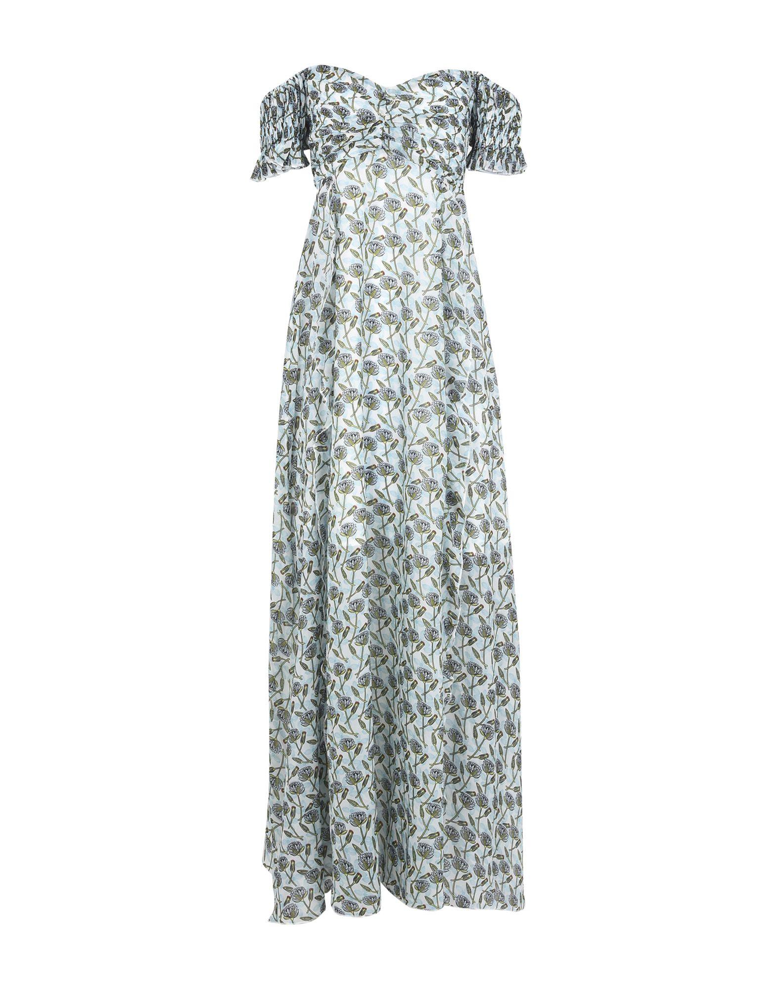 《送料無料》FOXIEDOX レディース ロングワンピース&ドレス ビタミングリーン L ポリエステル 100% LEXIE DRESS
