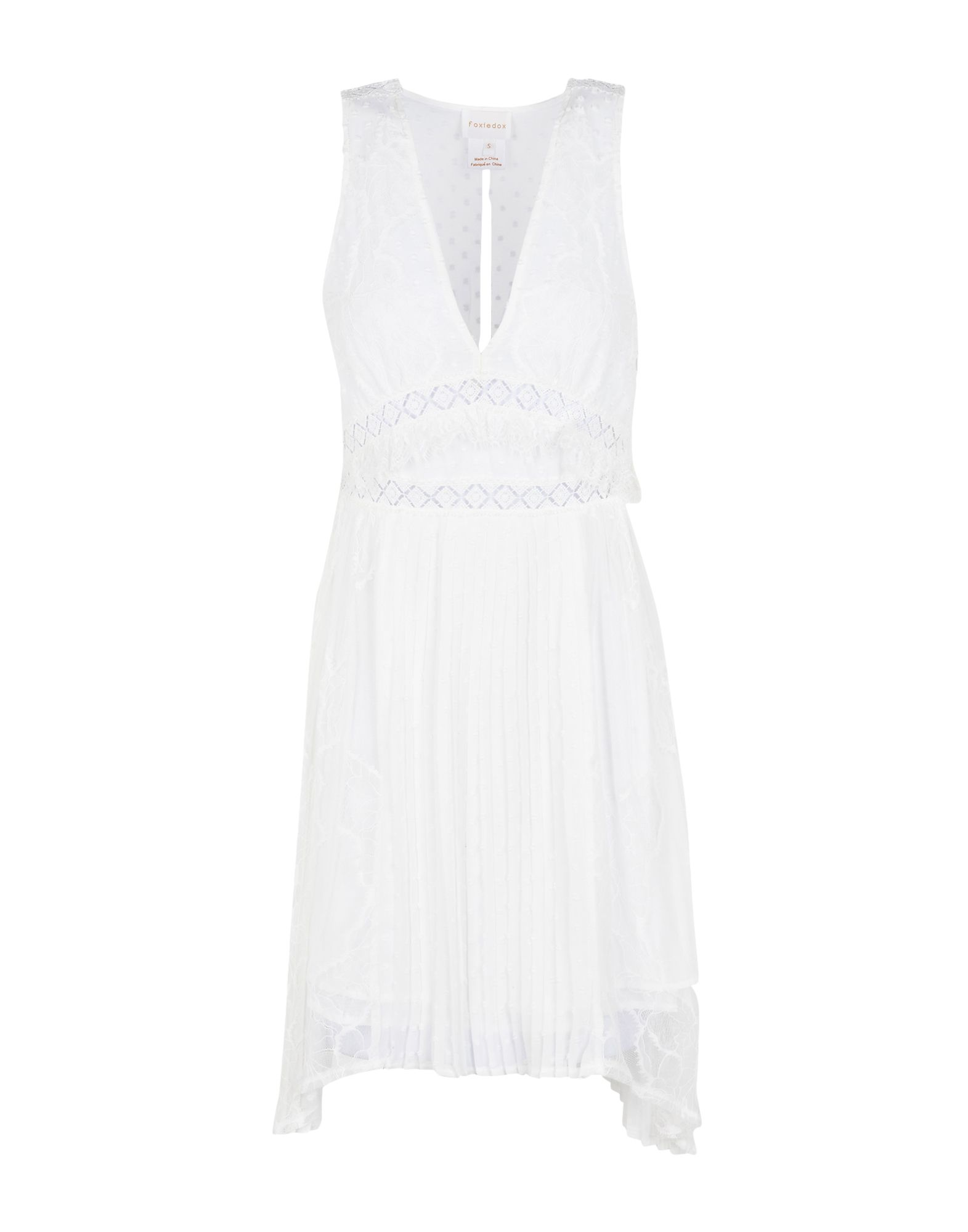 FOXIEDOX Короткое платье foxiedox платье длиной 3 4