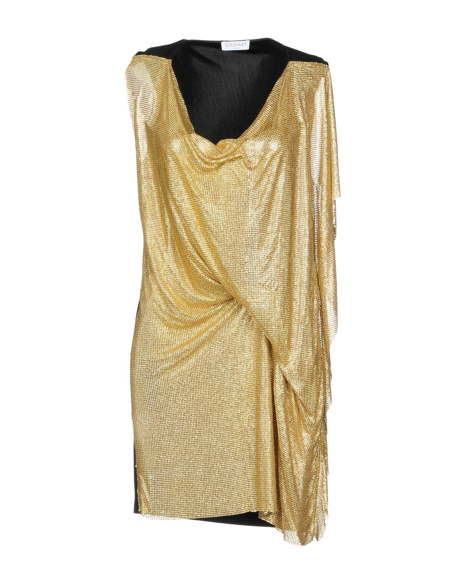 VIONNET Короткое платье vionnet короткое платье