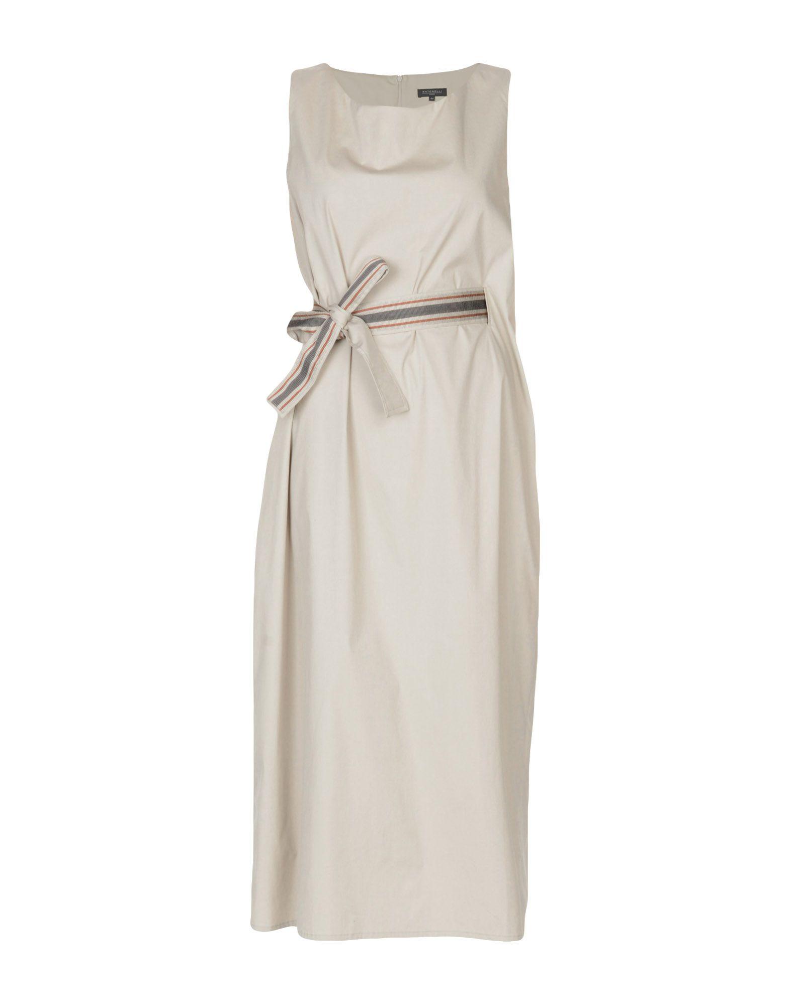 ANTONELLI Платье длиной 3/4 lisa corti платье длиной 3 4