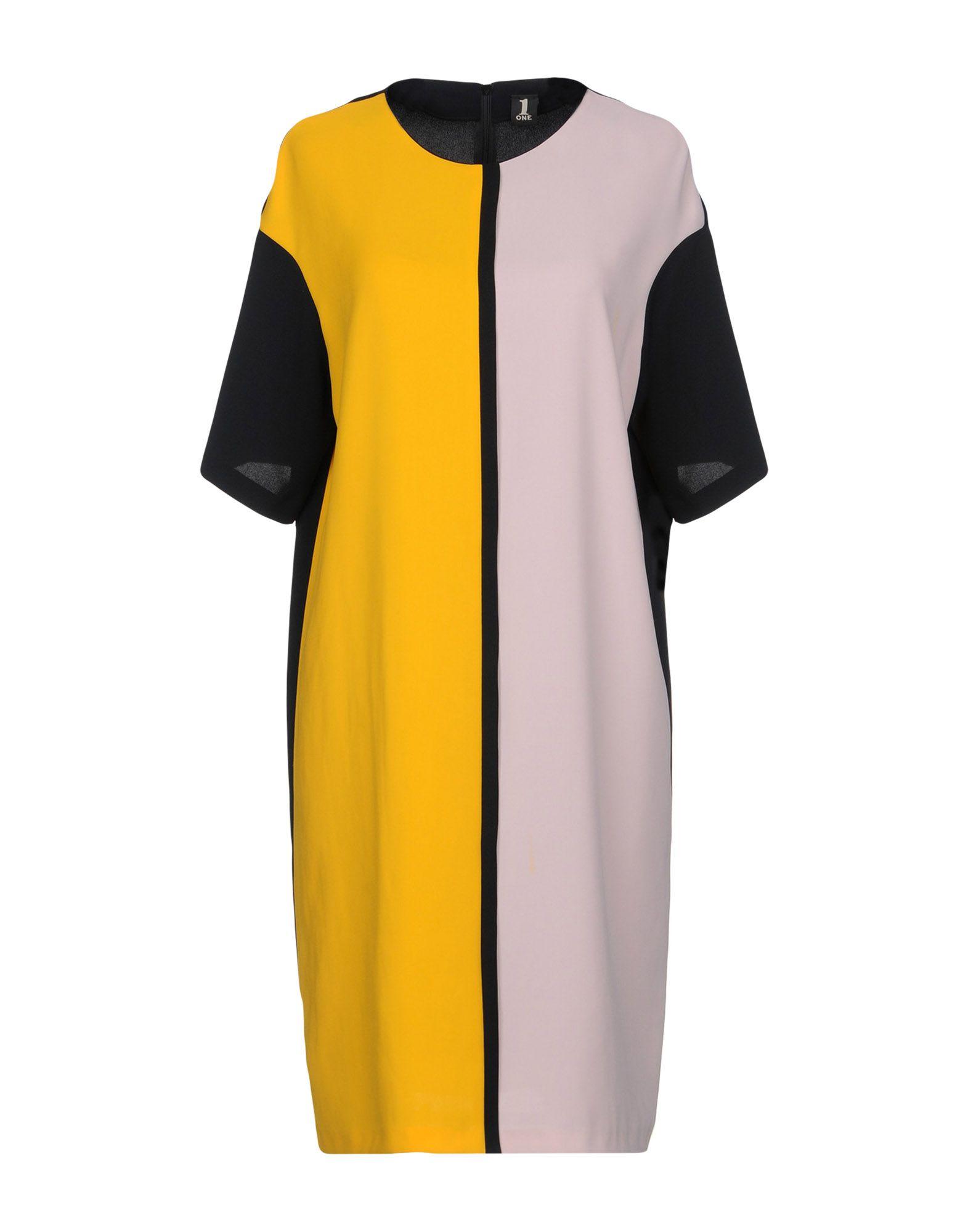 купить 1-ONE Платье до колена по цене 10400 рублей