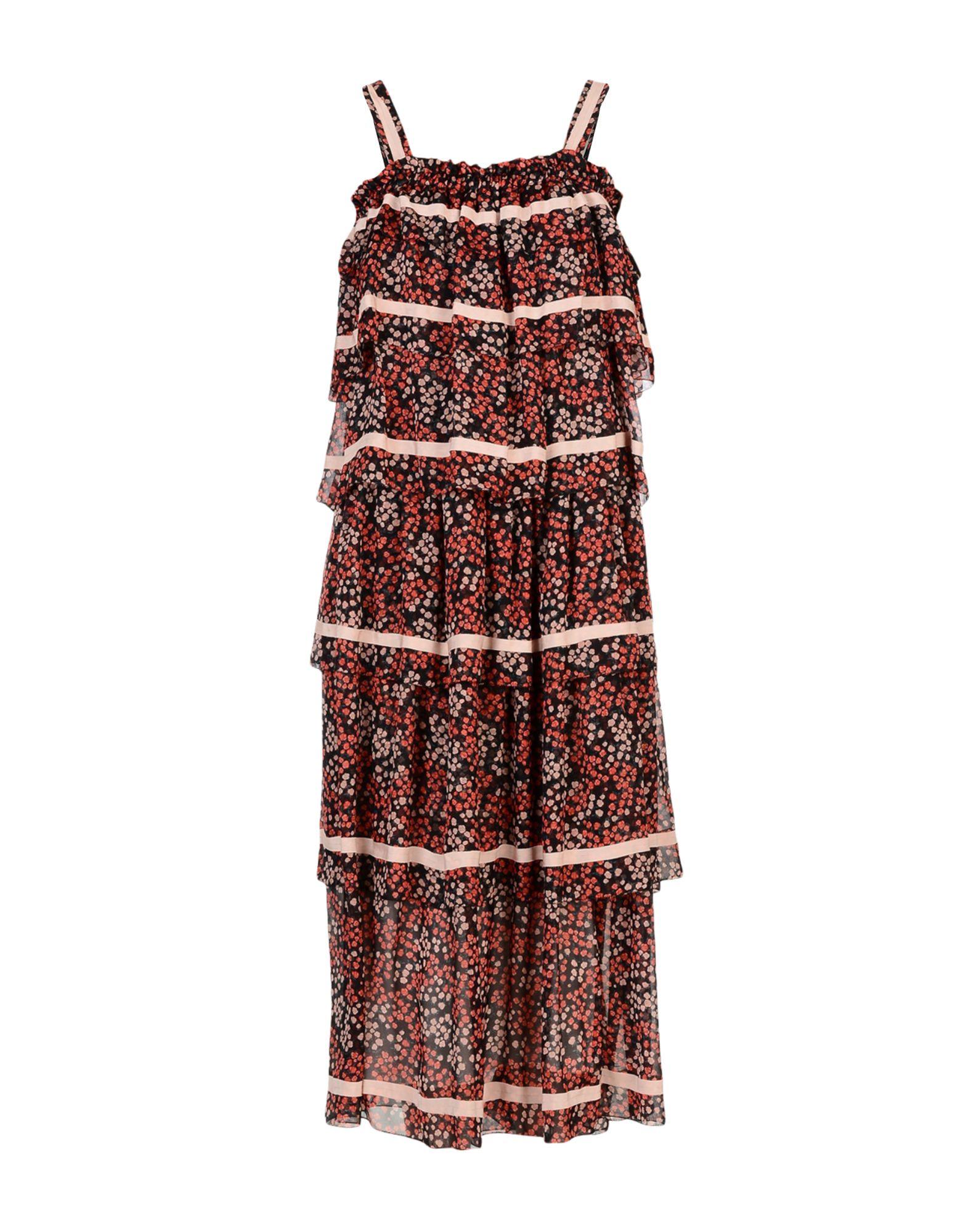 ROSSELLA JARDINI Длинное платье rossella carrara топ без рукавов