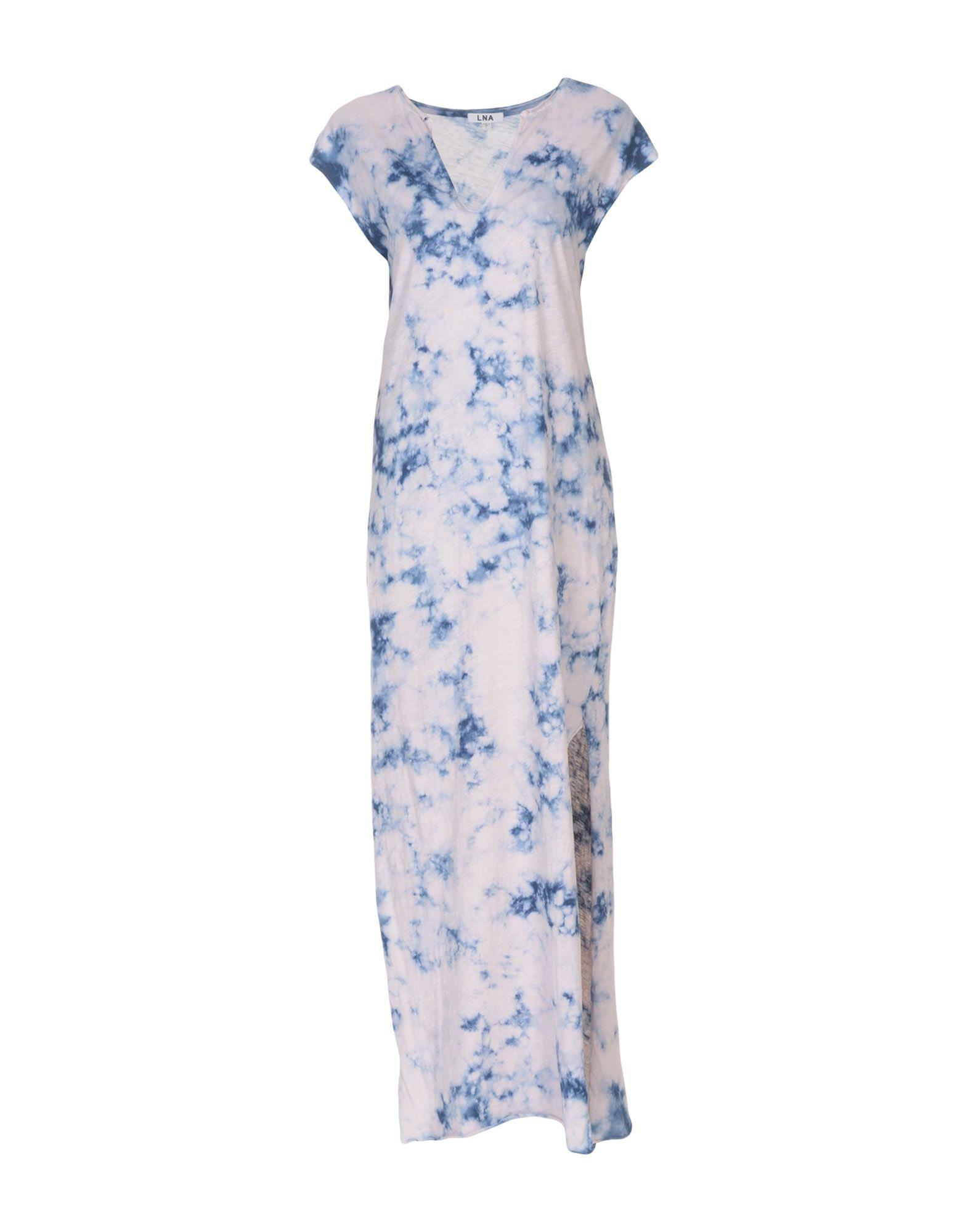 LNA Короткое платье lna блузка