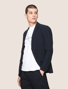 ARMANI EXCHANGE SEERSUCKER TWO-BUTTON BLAZER Blazer Man a
