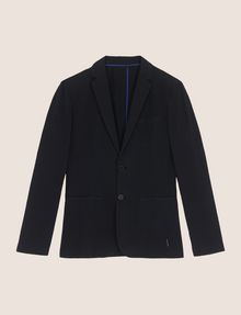 ARMANI EXCHANGE SEERSUCKER TWO-BUTTON BLAZER Blazer Man r