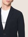 ARMANI EXCHANGE SEERSUCKER TWO-BUTTON BLAZER Blazer Man b
