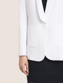 ARMANI EXCHANGE LONGLINE SHAWL LAPEL BLAZER Blazer Woman b