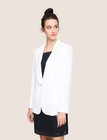 ARMANI EXCHANGE LONGLINE SHAWL LAPEL BLAZER Blazer Woman f