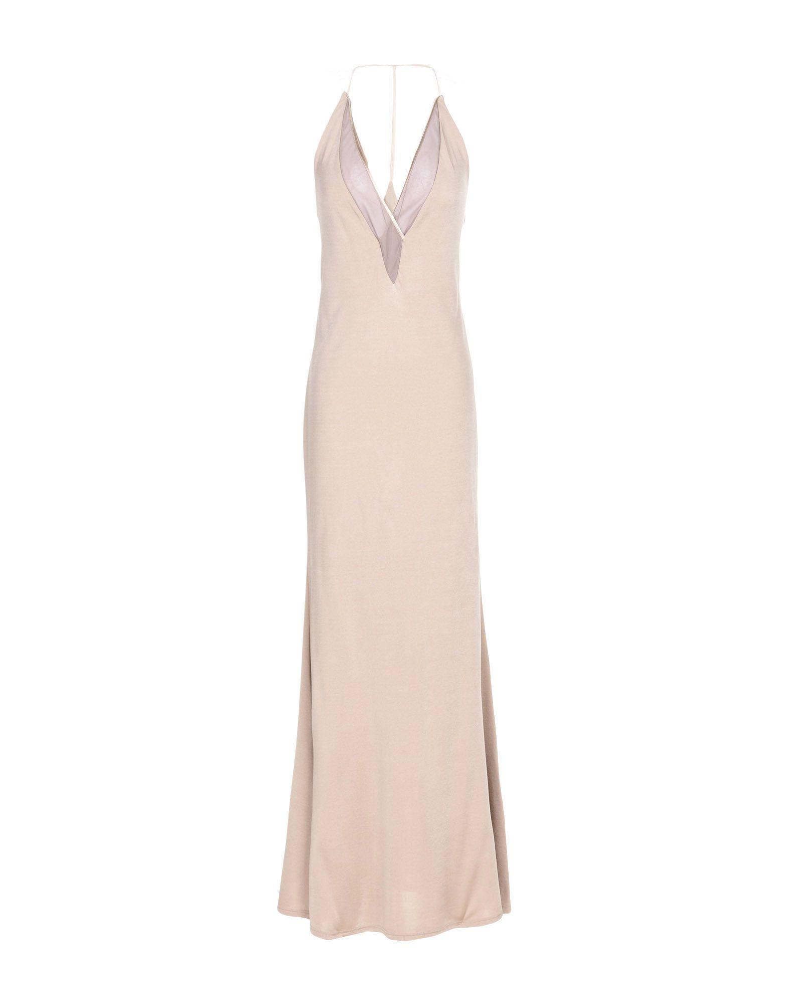 ICONE Длинное платье цены онлайн