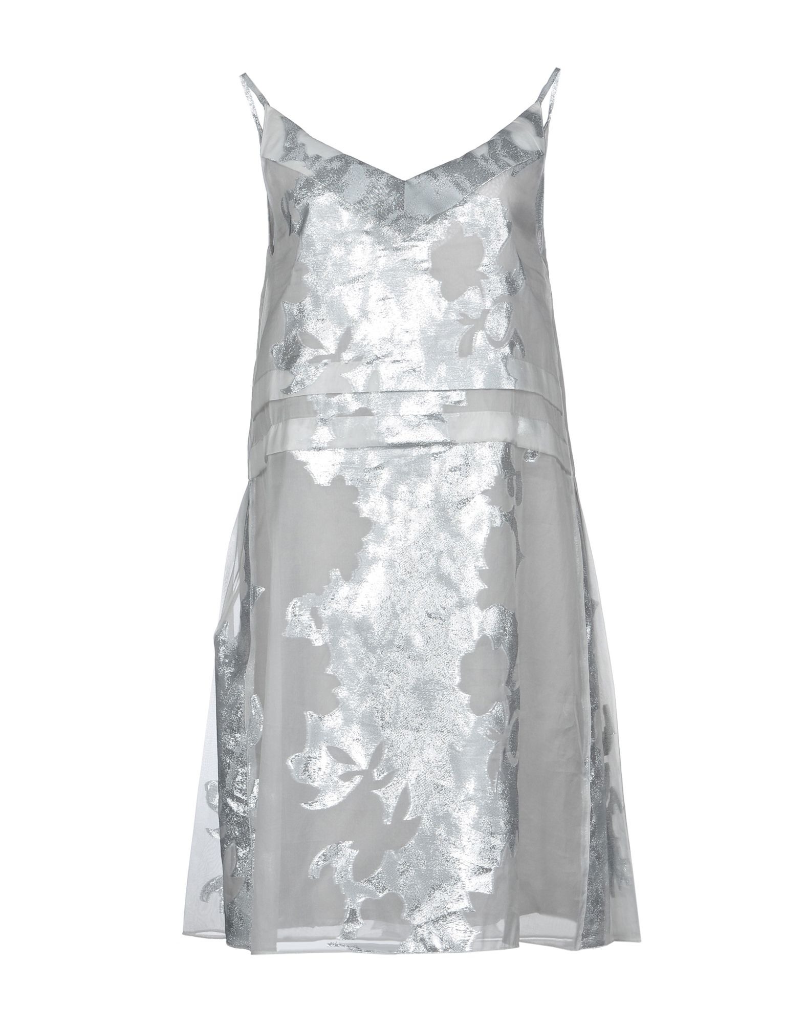 ANDREA INCONTRI Short Dress in Light Grey