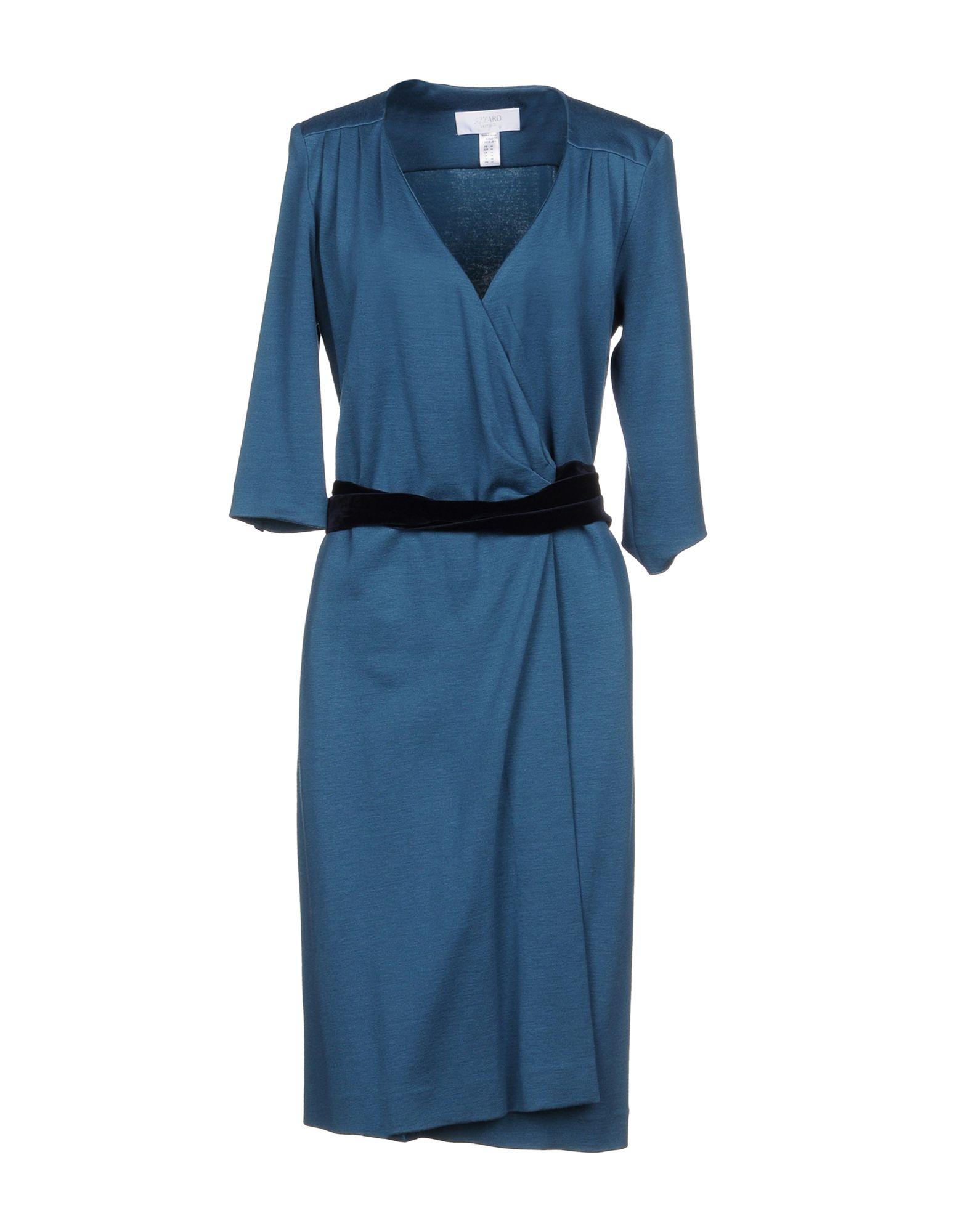 AZZARO Платье до колена azzaro короткое платье
