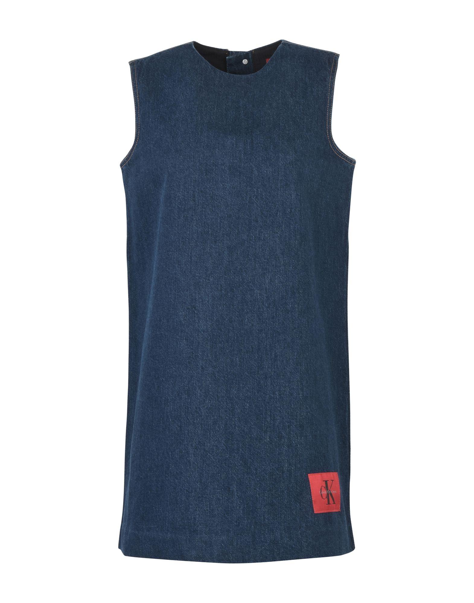 CALVIN KLEIN JEANS Короткое платье кошелек calvin klein jeans calvin klein jeans ca939bwapqt1