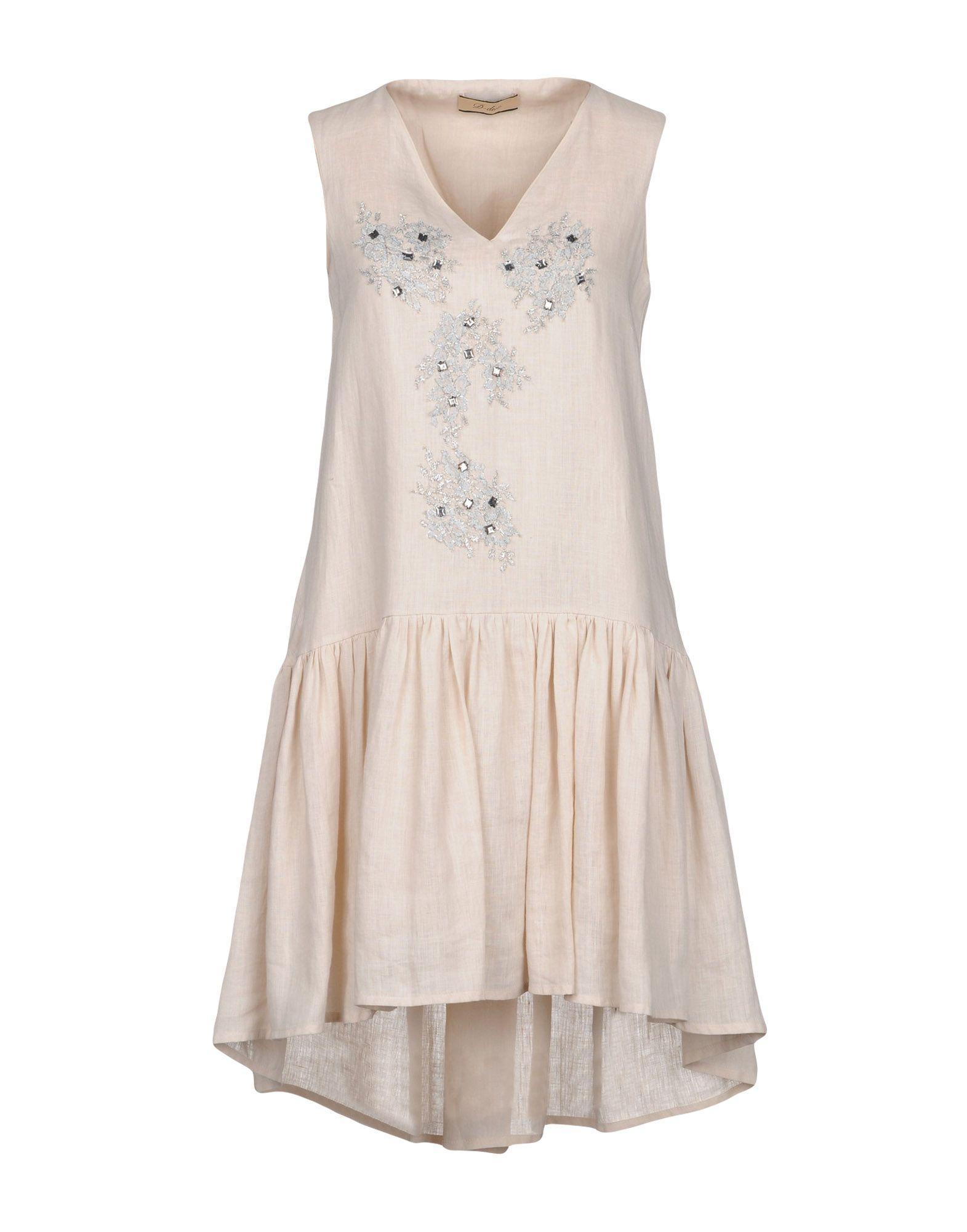 D-DUE Короткое платье цена 2017