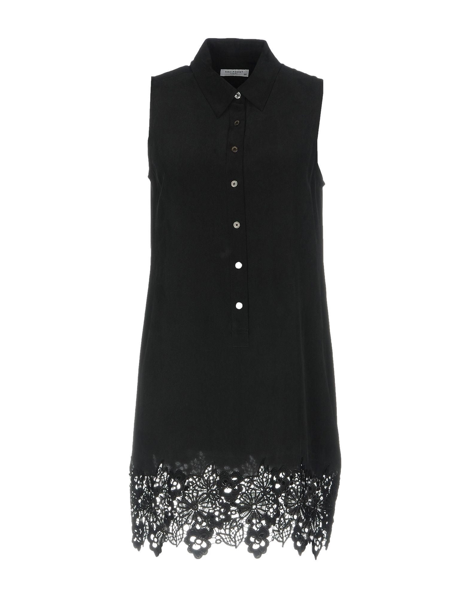 цена EQUIPMENT Короткое платье