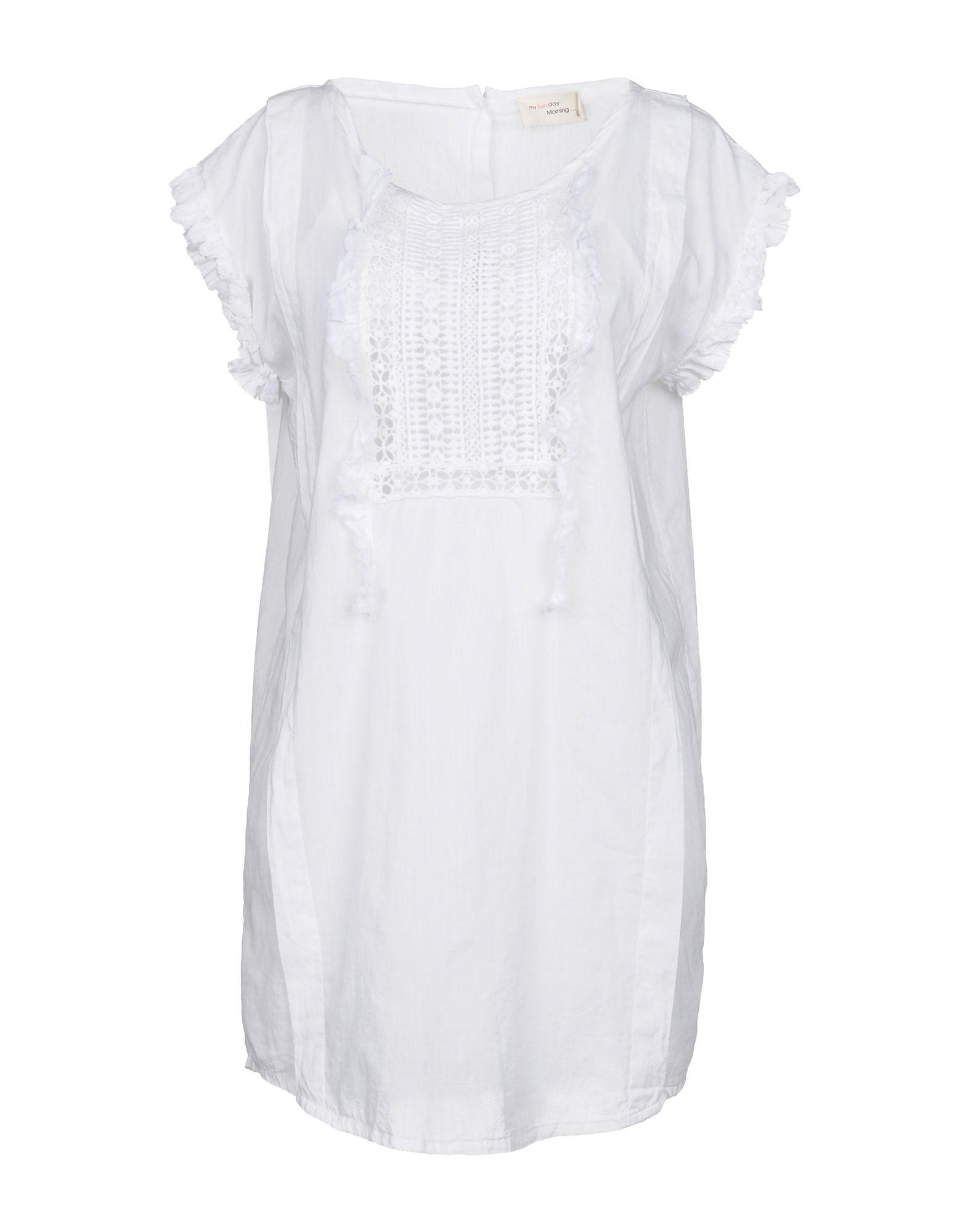 MY SUNDAY MORNING ... Короткое платье my sunday morning блузка