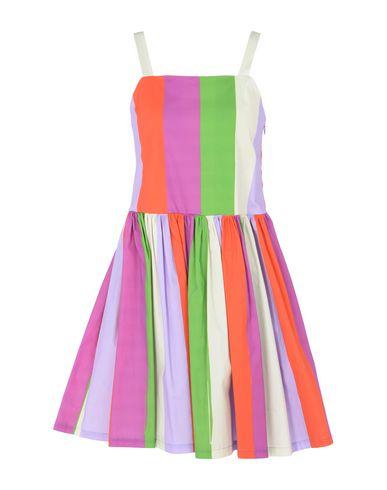 Купить Женское короткое платье LEO STUDIO DESIGN фиолетового цвета