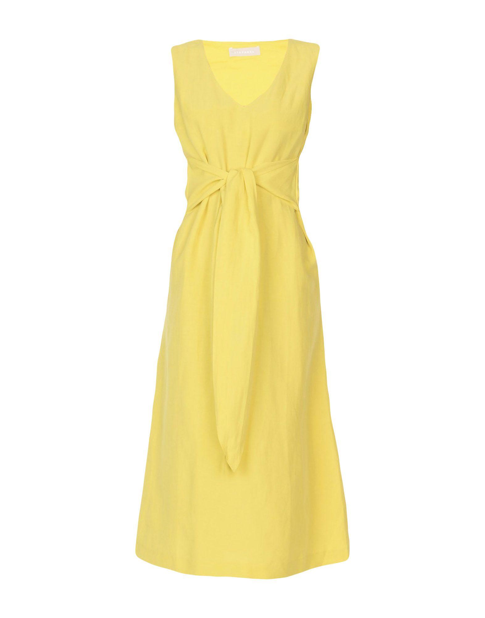 STEFANEL Платье длиной 3/4 stefanel юбка длиной 3 4